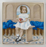 A Little Girl Oil on Canvas No. 1