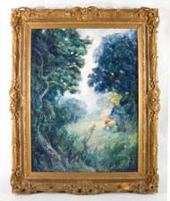Alphonse Asselbergs Oil of Girls