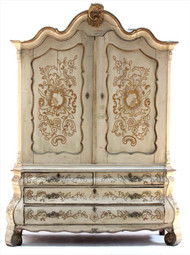 A Formerly Owned By Dick Cavet Armoire