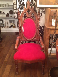 Gothic Revival Hall Chair