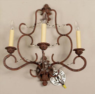Patinated Sconces - Priced Each