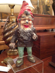 Hubley Gnome Door Stop