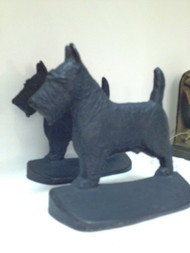 Scotty Bookends - Sold as Pair