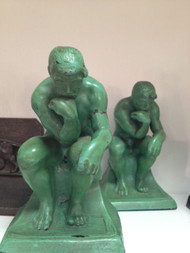 Thinker Bookends - Sold as Pair