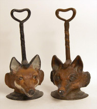 Turn of the Century Fox Doorstops - Priced Each