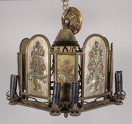 Arts and Crafts Period Chandelier