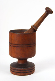 Treen Mortar and Pestle