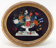 Tinsel Painting 19th Century Women's Art Form