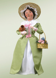 Byers Choice Colonial Flower Woman