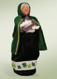 Byers Choice Irish Mrs. Claus