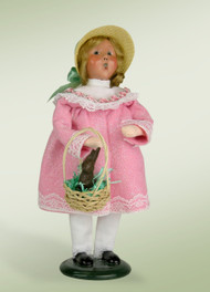 Byers Choice Easter Girl