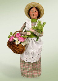 Byers Choice Spring Mother 2014 - Signed