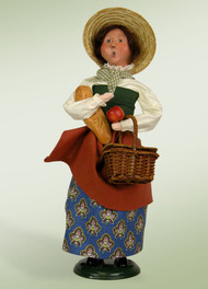 Byers Choice Picnic Woman - Signed