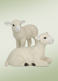 Byers Choice Nativity Lambs
