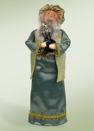 Byers Choice Nativity Blue Wise Man with Frankincense
