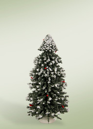 "Byers Choice 9"" Snow Tree"