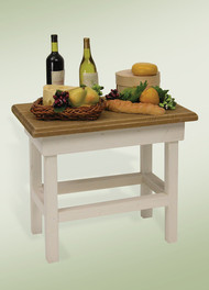 Byers Choice Wine & Cheese Table
