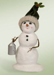 Byers Choice Small Snowman with Lantern