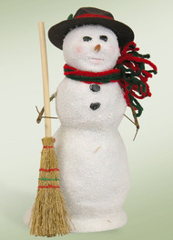 Byers Choice Snowman with Broom