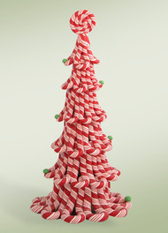Byers Choice Red Candy Cane Tree
