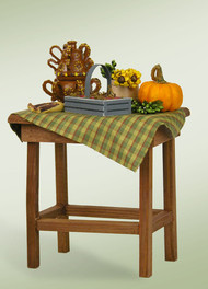 Byers Choice Harvest Table