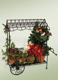 Byers Choice Holly and Ivy Cart