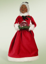Byers Choice African American Mrs. Claus w/ Gelatin Mold
