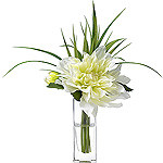 Diane James Dahlia Blossom in Bud Vase