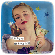 Anne Taintor Mini Tray - I'm so happy it's happy hour