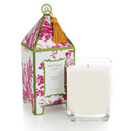 Seda France Rhubarb Pear Classic Toile Pagoda Box Candle
