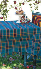 April Cornell - Market Plaid Tablecloth