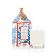 Seda France French Tulip Classic Toile Pagoda Box Candle