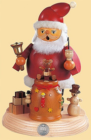 Müller Santa Claus with Bell and Pipe