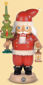 Müller Santa with Tree Nutcracker
