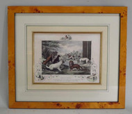 Three Framed 19th Century Engravings of Dogs- From a Parish Hadley Decorated Home- Priced Each