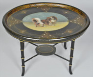 Cavalier King Charles Spaniel Tray on Stand