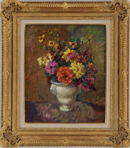 Floral Still Life by Prosper Rotge