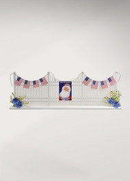Byers Choice Picket Fence