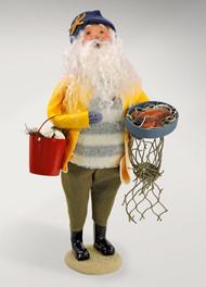Byers Choice Nautical Santa - Slicker