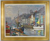 """Canal in Copenhagen"""