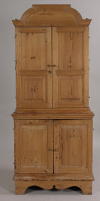 AA Treasure of Richard Widmark's- A  Petite Antique English Corner Cupboard