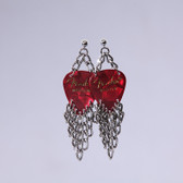 Fringe Red Earring's