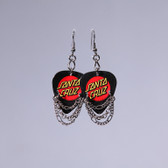 Hard Rock l Santa Cruz Black Earrings