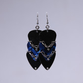 Scales l Blue Pick Earrings