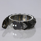 Mens Bracelet Black & Grey