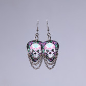 Hard Rock l Day of The Dead Diamond Earrings