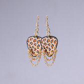 Hard Rock l Leopard Brown Earrings
