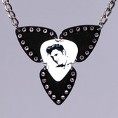 Mosaic Pendant Elvis Necklace
