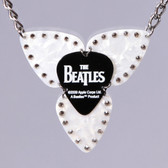 Mosaic Pendant Beatles Necklace