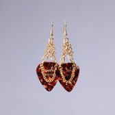 Heavy Metal l Fender Tortoise Earrings